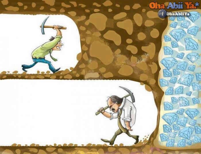 Vazgeçmemek, Sabır, Başarı